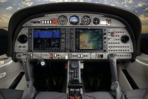 DIAMOND DA42 Twin Star interior