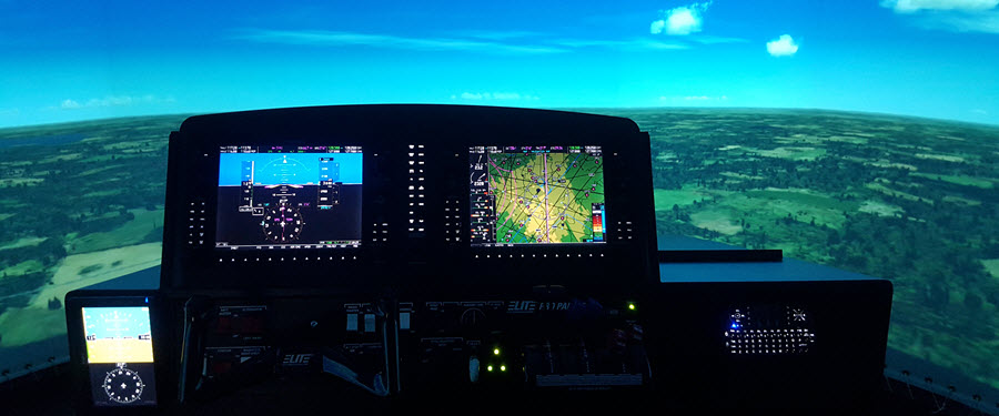 Immersive Elite G1000 Simulator