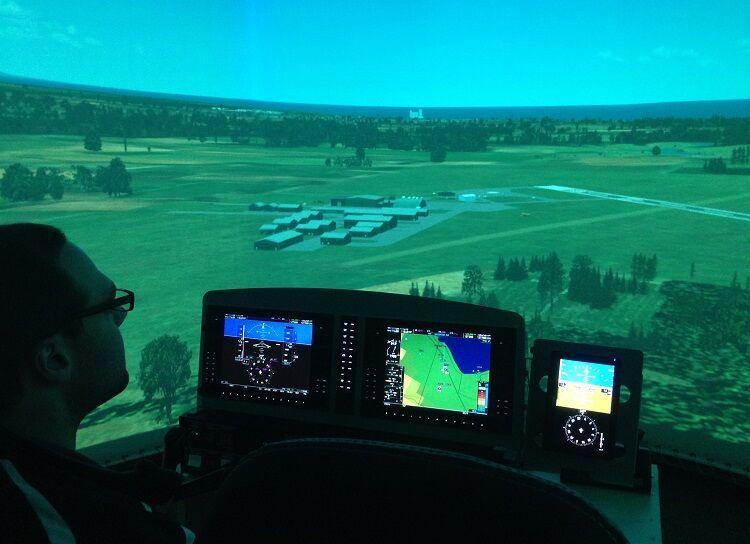Elite G1000 Simulator